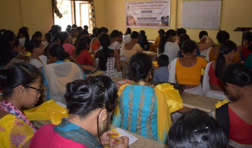 Skill development training programme under
