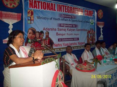 SRI. DEEPAMONI SAIKIA, DISTRICT SOCIAL WELFARE OFFICER, NAGAON