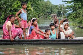 Flood  in Assam 2017